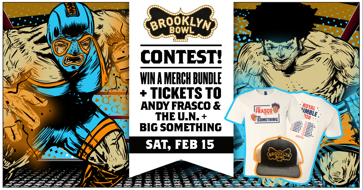 More Info for CONTEST! Win a Merch Bundle + Tickets to Andy Frasco & The U.N. + Big Something