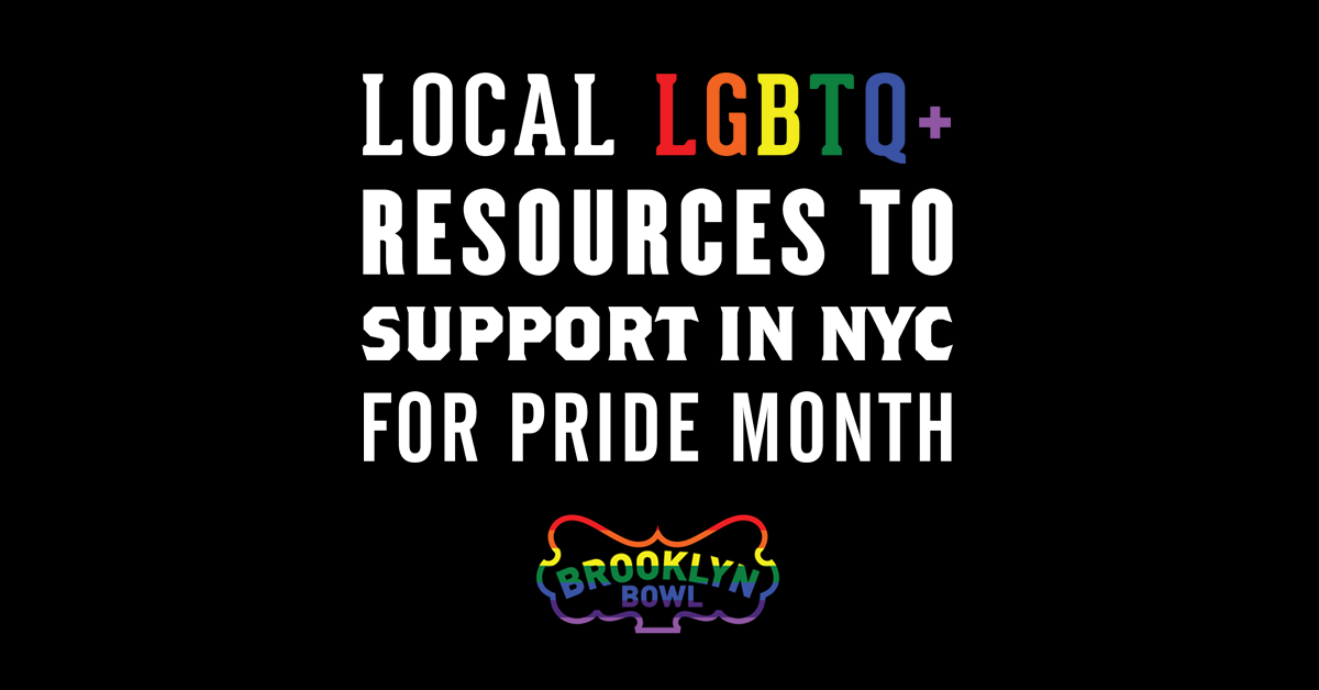 More Info for Local LGBTQ+ Resources to Support in NYC for Pride Month