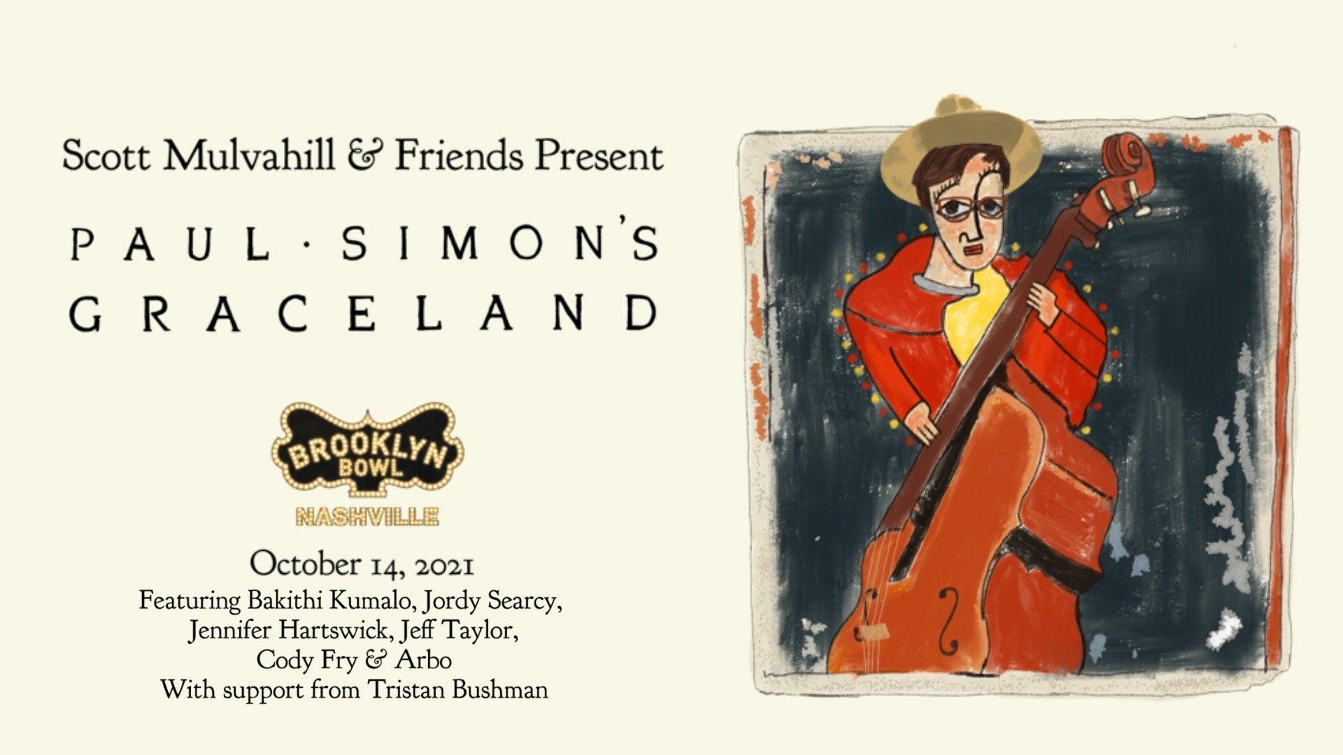 More Info for CONTEST! Scott Mulvahill & Friends Present: Paul Simon's Graceland Tickets + Bowling!